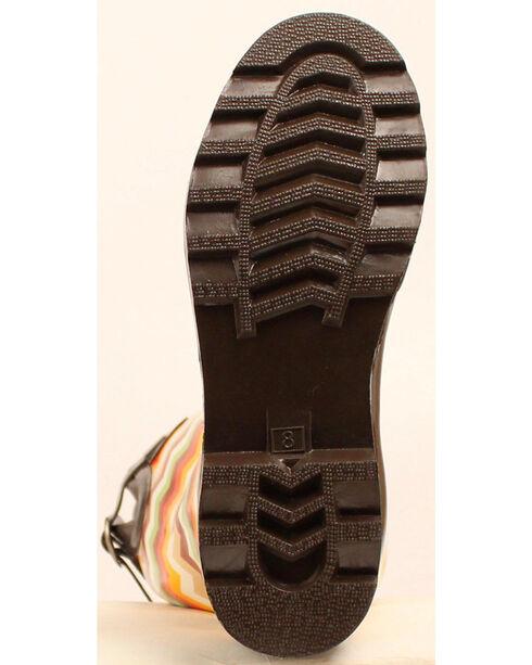 Blazin Roxx Leanne Chevron Rain Boots - Round Toe, Multi, hi-res