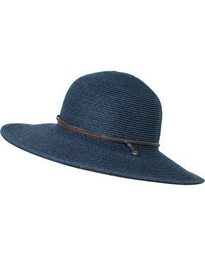 Peter Grimm Women's Navy Coralia Sun Hat , Navy, hi-res