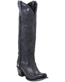 Lane Women's Plain Jane Distressed Round Toe Western Boots, , hi-res