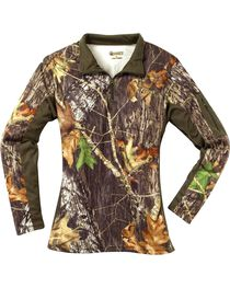 Rocky Women's SilentHunter Zip Shirt, , hi-res