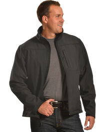 Forge Workwear Men's Black Lined Bonded Jacket , , hi-res