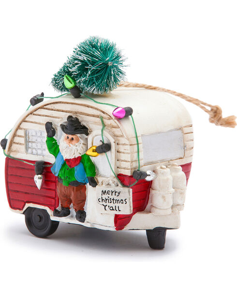 BB Ranch Trailer with Lights Ornament, No Color, hi-res