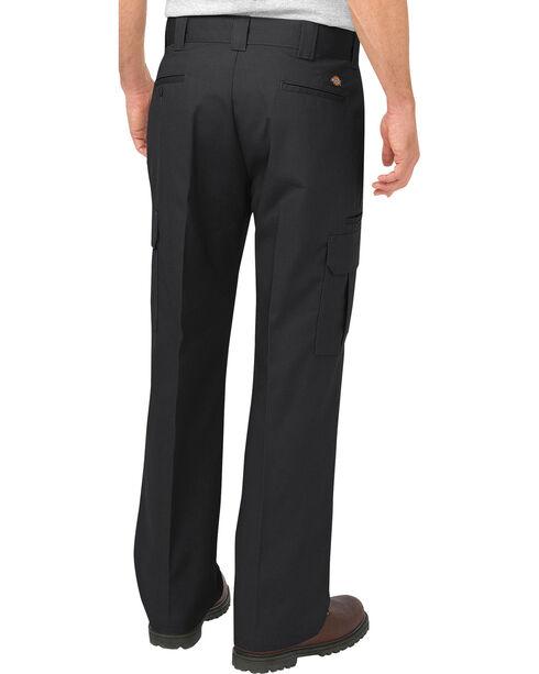 Dickies Men's FLEX Relaxed Fit Straight Leg Cargo Pants, Black, hi-res