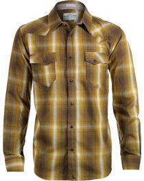 Cody James Men's 8 Seconds Plaid Long Sleeve Shirt, , hi-res