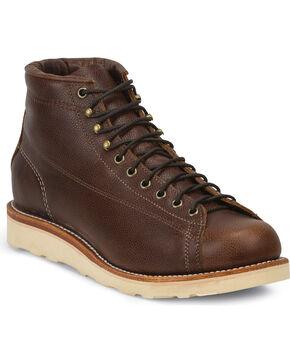 Chippewa Men's Lace-to-Toe Bridgemen Boots, Dark Brown, hi-res