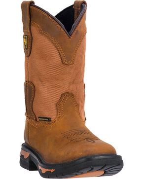 Dan Post Youth Everest Certified Western Boots, Brown, hi-res