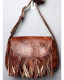 Bed Stu Women's Eastend Teak Driftwood Fringe Shoulder Bag, , hi-res