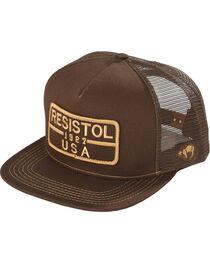 Resistol Men's Brown Five Panel Mesh Baseball Cap , , hi-res