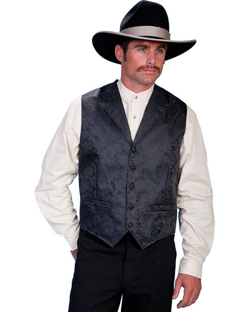 Rangewear by Scully Men's Dragon Vest, Black, hi-res