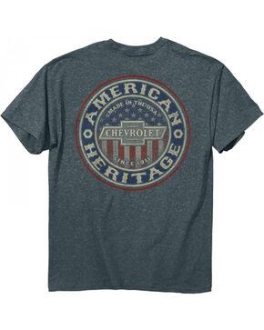 Buck Wear Men's American Grit Chevy T-Shirt, Heather Grey, hi-res
