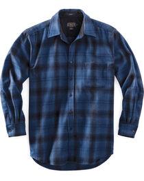 Pendleton Men's Blue Ombre Lodge Shirt , , hi-res