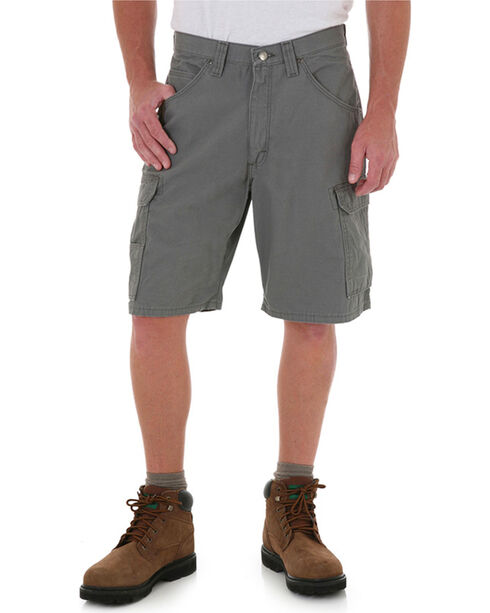Riggs Workwear Men's Ranger Shorts, Grey, hi-res