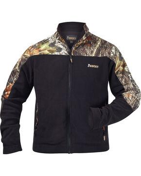 Rocky Casual Lifestyle Camo Fleece Jacket, Blknd Green, hi-res