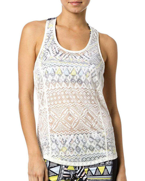 Miss Me Women's Sports Bra Tank, White, hi-res