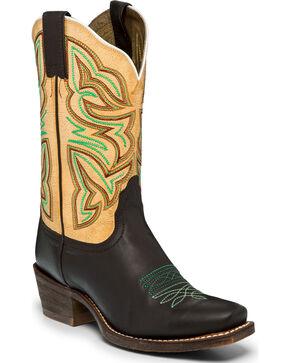 "Nocona Women's 11"" Sabrina Western Boots, Chocolate, hi-res"