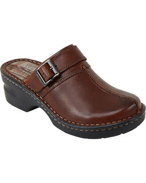 Eastland Women's Brown Mae Clogs, Brown, hi-res