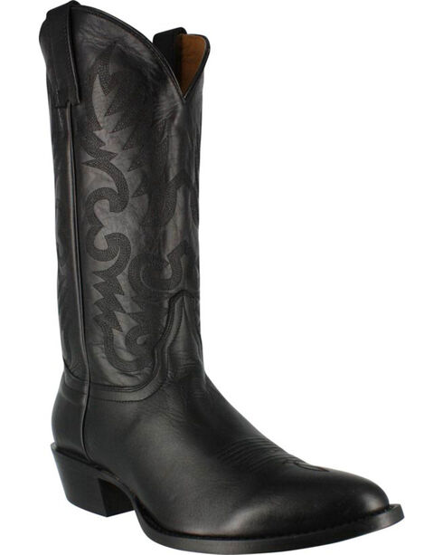 Cody James® Men's Narrow Round R Toe Western Boots, Black, hi-res