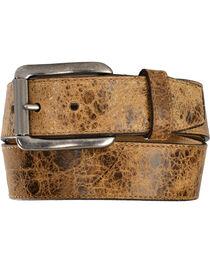 Justin Men's Tailgunner Leather Belt, , hi-res