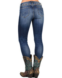 Drift Wood Women's Jackie Embroidered Skinny Jeans, , hi-res