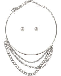 Shyanne® Women's Layered Chain Jewelry Set, , hi-res