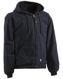 Berne Original Washed Hooded Jacket - Quilt Lined - 3XT and 4XT, , hi-res