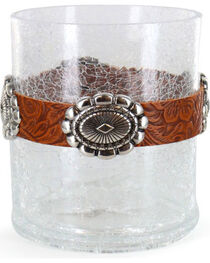"""BB Ranch® 4"""" Concho Candle Holder, , hi-res"""