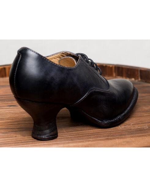 Oak Tree Farms Janet Black Heels - Medium Toe, Black, hi-res