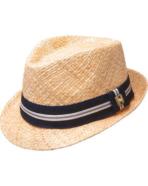 Peter Grimm Isaac Straw Fedora, Natural, hi-res