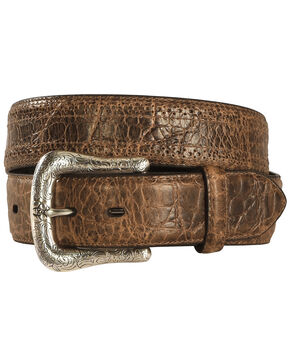 Ariat Men's Perforated leather Belt, Tan, hi-res