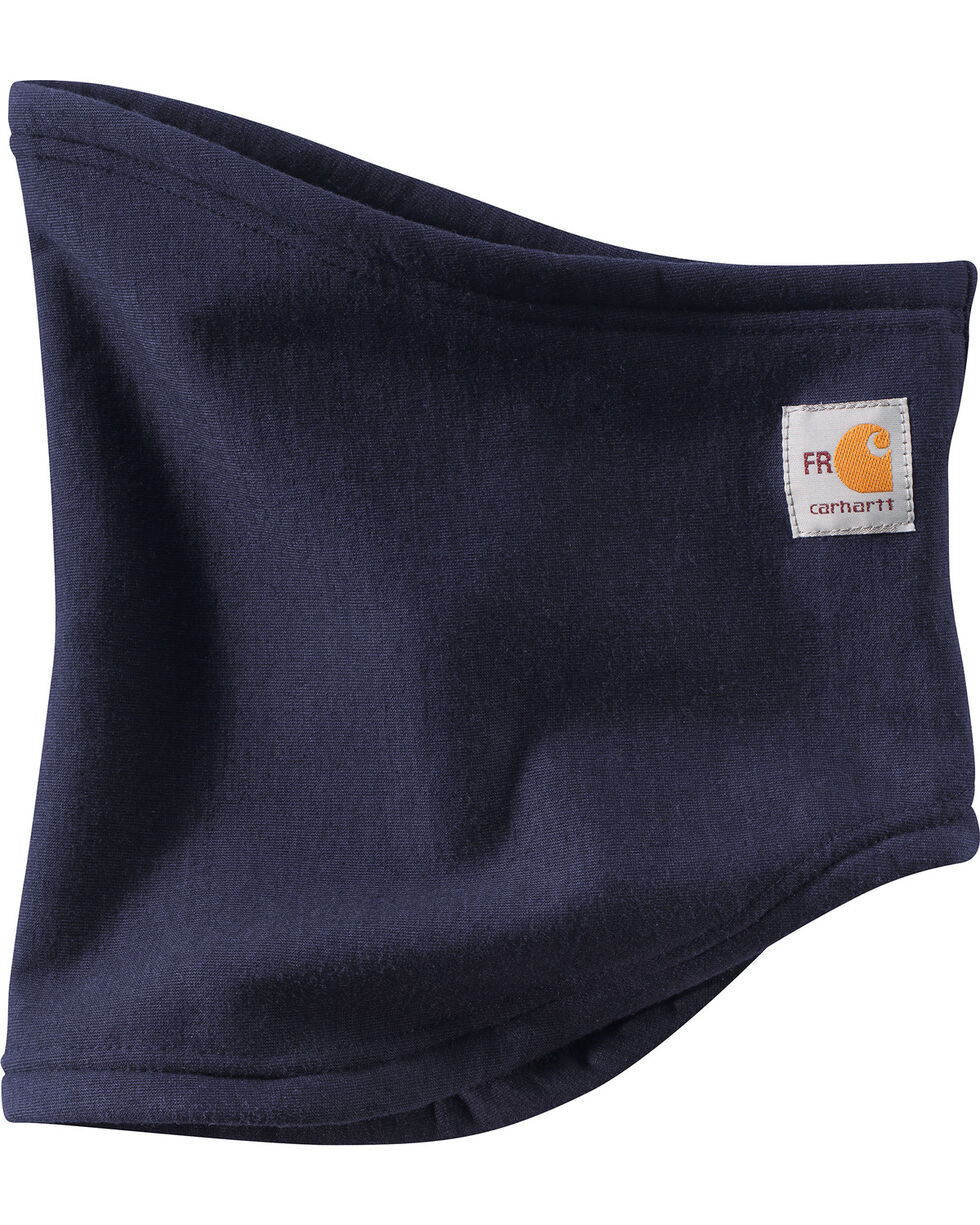 Carhartt FR Polartec Wind Pro Fleece Water Repellant Neck Gaiter, Navy, hi-res