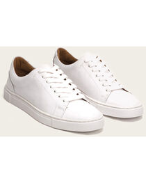 Frye Women's White Ivy Low Lace Sneakers , , hi-res