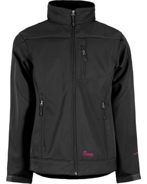 Berne Women's Eiger Softshell Jacket - 3X & 4X, Black, hi-res