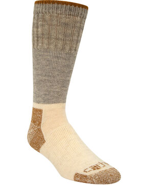 Carhartt Arctic Wool Heavyweight Boot Socks, Grey, hi-res