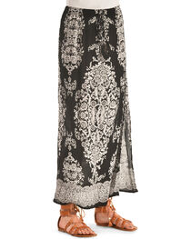 Bila Women's Printed Long Skirt , , hi-res