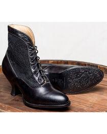 Oak Tree Farms Jacquelyn Black Boots - Medium Toe, , hi-res