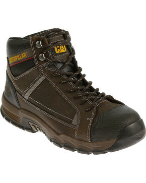 CAT Men's Regulator Work Boots, Brown, hi-res