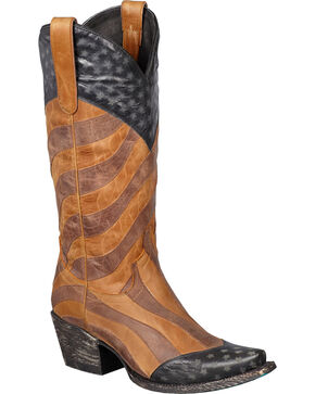 Lane Women's Faded Glory Western Fashion Boots, Am Spirit, hi-res