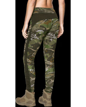 Under Armour Women's Merino Base Layer Leggings, Camouflage, hi-res