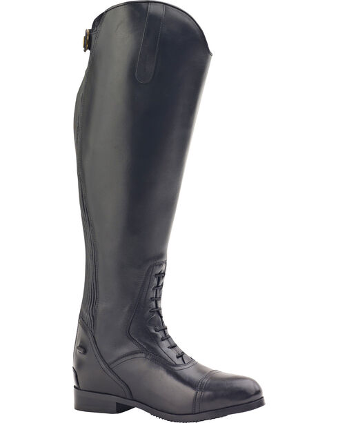 Ovation Women's Flex Plus Field Boots, Black, hi-res