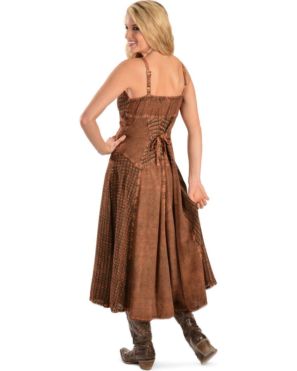 Honey Creek by Scully Women's Maxi Dress, Copper, hi-res