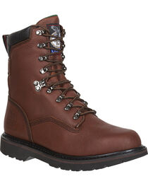 Georgia Men's Retro Renegades Work Boots, , hi-res