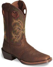 Justin Junior's Stampede Western Boots, , hi-res
