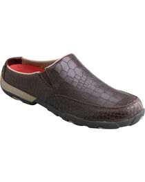 Twisted X Women's Dusty Brown Driving Mocs, , hi-res