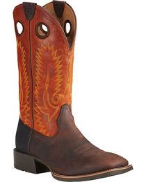 Ariat Men's Heritage High Plains Cowboy Boots - Square Toe, , hi-res