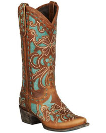 Lane Robin Cowgirl Boots - Snip Toe, , hi-res