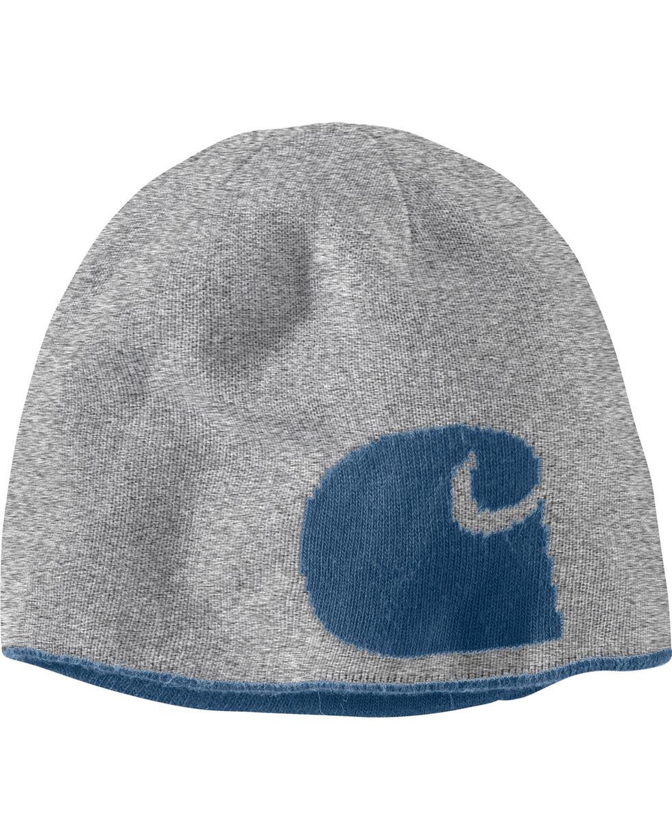 Carhartt Men's Dark Blue Greenfield Reversible Hat, Dark Blue, hi-res