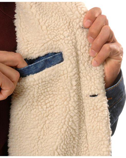 N40 Gear Sherpa-Lined Denim Jacket, Denim, hi-res