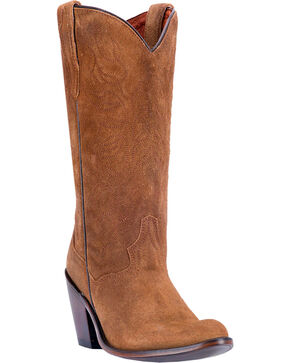 Dan Post Women's Meena  Western Boots, Brown, hi-res