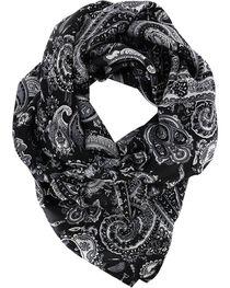 M&F Women's Silk Paisley Wild Rag, , hi-res