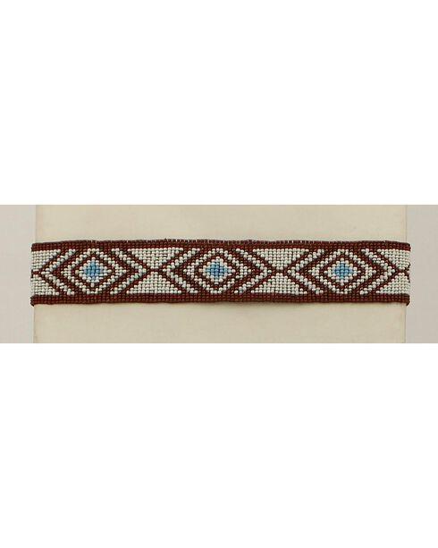 Blazin Roxx Triangle Bead Headband, Multi, hi-res